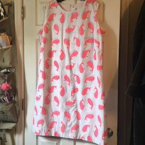 Vintage 1970s whale dress